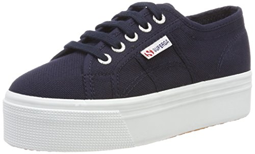 Blu Up Donna F43 2790acotw fwhite Down And Sneaker Superga navy Linea HP0TqwFna