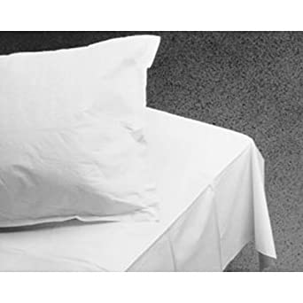 GRAHAM MEDICAL TISSUE DRAPE U0026 BED SHEETS Bed Sheet, White, 40u0026quot; X  90u0026quot