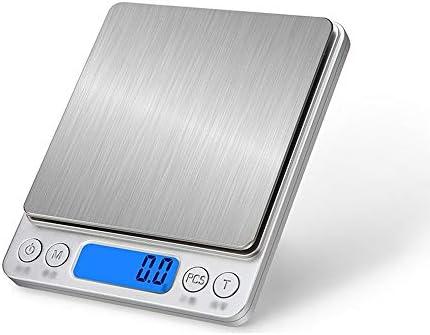 ChenCheng キッチンスケール - ステンレス、防水ボディ、コンパクトでポータブル、キッチンミニチュアデジタルディスプレイスマートブラッシュフードベーキング計量スケール - 4レンジオプション 家庭用電子スケール (Size : 2kg)