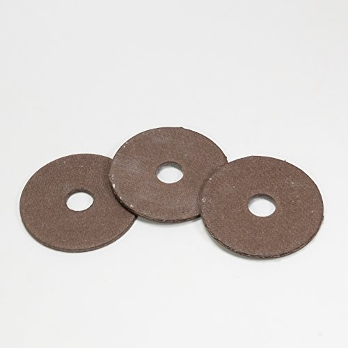 GRASSHOPPER MOWER PART 421200 FIBER BLADE WASHER *SET OF 3*