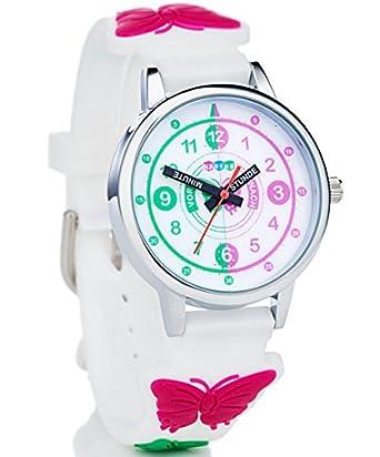 Hapids Lernuhr Zeiger Armbanduhr Kinderuhr Uhr Zum Uhrzeit Lesen