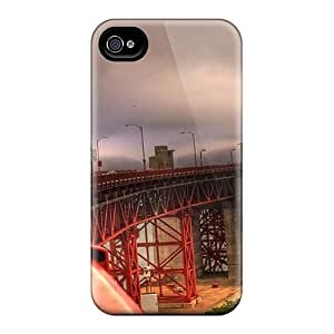 STWanke MMFKGfm1052RacLt Case Cover Skin For Iphone 4/4s (the Wonderful Golden Gate Bridge Hdr)