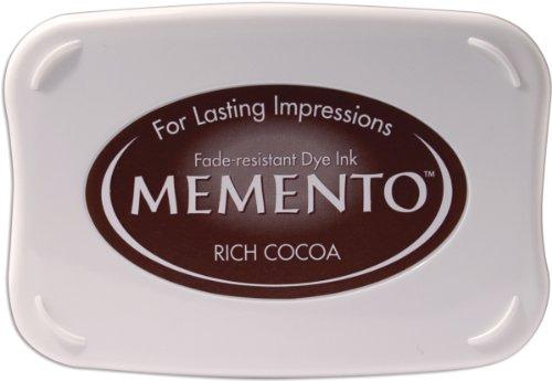 Tsukineko Full-Size Memento Fade Resistant Inkpad, Rich Cocoa