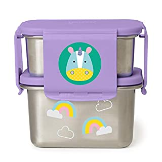 Skip Hop Stainless Steel Toddler Lunch Kit, Unicorn
