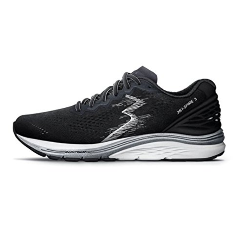 361  Mens Spire 3 Running Shoe  13 D M   Black Ebony