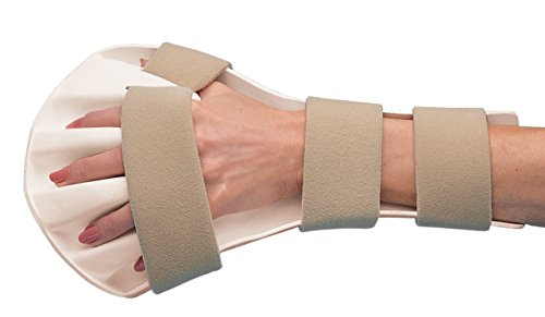 - Rolyan Splinting Material, Anti-Spasticity Ball Splint for Hand, Straps Included, Left, Medium