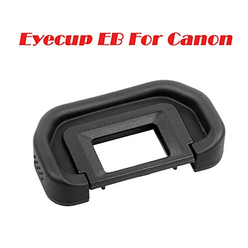 UTP Eyecup EB Rubber Eye Cup Viewfinder Eyepiece for Canon EOS 6D 70D 60D 60Da 50D 5D Mark II 5D2 40D Eye Piece Viewfinder Goggles ()