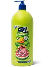 Suave Kids 3 in 1 Shampoo Conditioner Bodywash For Tear-Free Bath Time Watermelon Wonder Dermatologist-Tested 40 oz