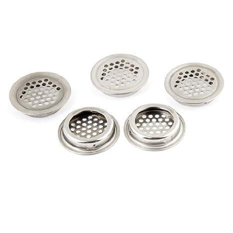 eDealMax redondo del metal Rejilla de ventilación Rejilla de ...