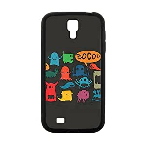 Personalized Clear Phone Case For Samsung Galaxy S4,cute lovely cartoon design