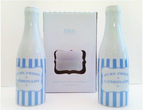 Robert Gordon Lemonade Bottles-Blue (Stripes Lemonade)