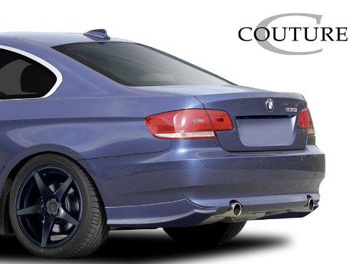 Couture Replacement for 2007-2010 BMW 3 Series E92 2dr E93 Convertible Urethane Vortex Rear Lip Under Spoiler Air Dam - 2 Piece