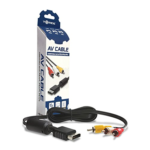 Tomee AV Cable for PS3/ PS2/ PS1 ()