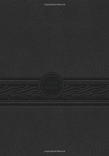 MEV Bible Personal Size Large Print Charcoal: Modern English Version