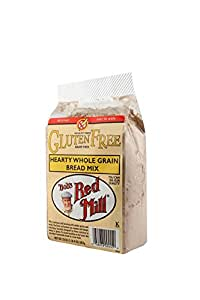 Bob's Red Mill Gluten Free Hearty Whole Grain Bread Mix, 20 Ounce (Pack of 4)