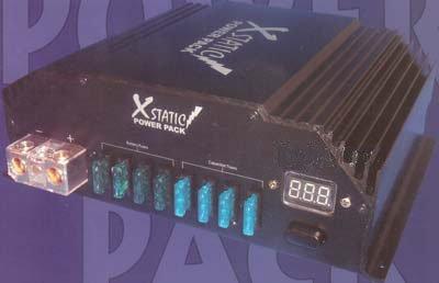 Amazon com: Xstatic Batcap Power Pack 1000+ Ca 12V Car Audio