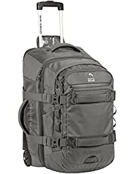 Granite Gear Cross-Trek Wheeled carry-on with removable 28L pack - Flint/chromium