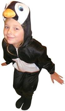 An46 Disfraz de pingüino, Tallas 8-9 años (128-134 cm) Trajes de ...