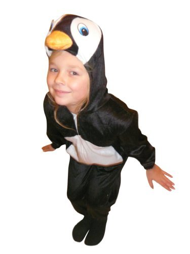 An46 Disfraz de pingüino, Tallas 8-9 años (128-134 cm ...
