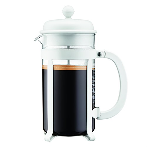 White French Press Coffee Maker : Bodum 1908-913 8 cup Java French Press Coffee Maker, 34 oz, White French Presses All for ...
