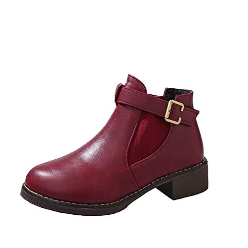 Shoes 's' 's Eu Sed Donna Stivali 38 Velcro Casual Con Tacco Da TxqHAz