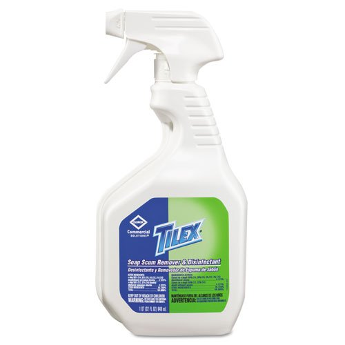 Tilex Soap Scum Remover and Disinfectant, 32oz Smart Tube Spray - Includes nine trigger bottles of mildew ()