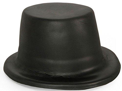 Foam Child Top Hat - Black - One-Size (Kids Top Hat)