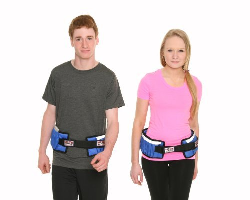 All Pro Weight Adjustable Power Stride Exercise Belt, 10-Pound by All Pro