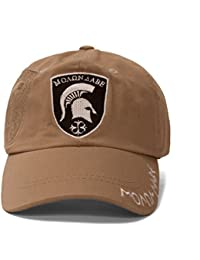 Molon Labe Greek Khaki Adjustable Cap