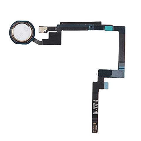 Gold Home Button Sensor Connector Flex Cable Replacement for Apple iPad Mini 3 (Ipad 3 Home Button Cable)