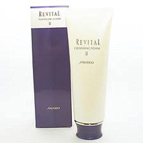 Shiseido Revital Cleansing Foam - Shiseido Revital Cleansing Foam II (Dewy moist. supple) 125g/4.4 oz.