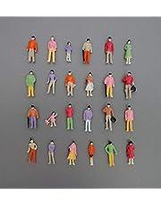 Archifreunde 100 st. modell stående sittande figurer – människor handmålade 1:100 spår TT – typ B