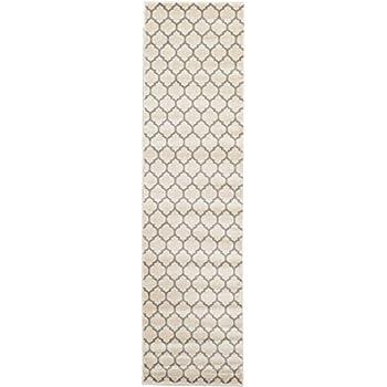 A2Z Rug Trellis Design Collection - 2' 7 x 10'-Feet-Runner Area Rugs, Beige