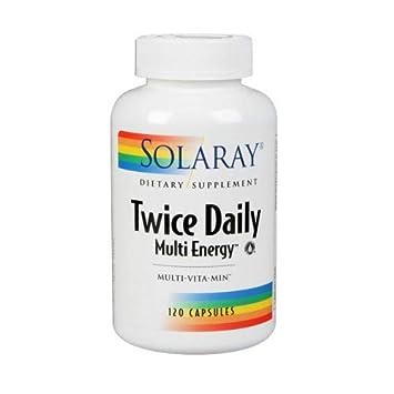 Amazon.com: Dos veces al día multi-energy Multi-Vita-Min ...
