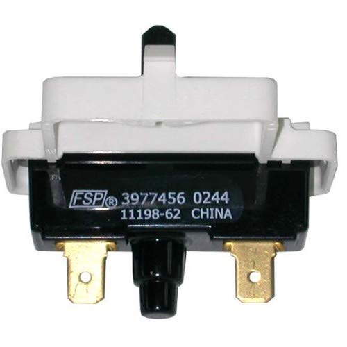 Whirlpool WP3977456 Dryer Push-to-Start Switch Genuine Original Equipment Manufacturer (OEM) Part