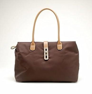 Tosca Women s Dual Strap Fashion Handbag Dark Brown  Handbags ... 1981bc4d879c