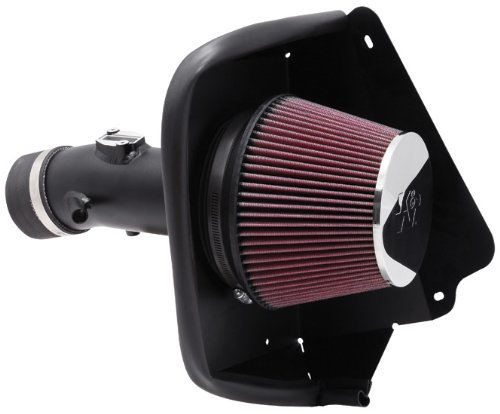 K&N Performance Cold Air Intake Kit 69-7002TTK with Lifetime Filter for Nissan Maxima 3.5L V6