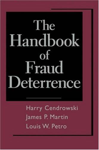 The Handbook of Fraud Deterrence