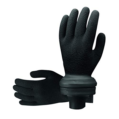 Scubapro Easydon Waterproof Gloves (Black, Medium)
