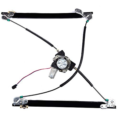 Power Window Regulator and Motor Replacement Parts fit for 2001-2003 Chrysler Town and Country/Voyager 2001-2003 Dodge Caravan/Grand Caravan Front Right Passengers Side 5135250AA 4717766AB 741-824