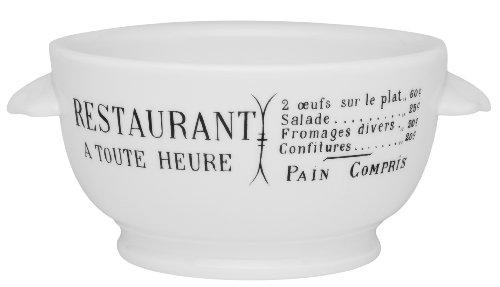 (Pillivuyt Brasserie Eared Onion Soup Bowl, 15 Ounce Capacity)