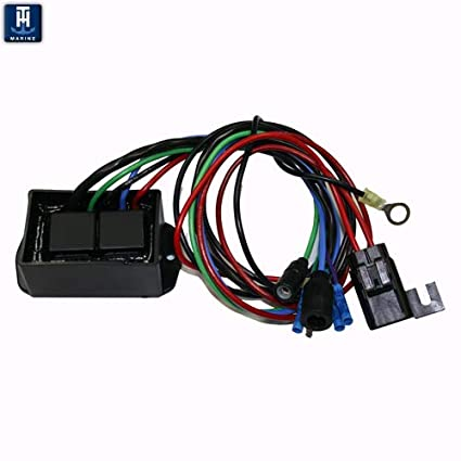 t  h  marine atlas hydraulic jack plate replacement wiring harness - relay  kit atlas jckplate - (