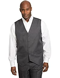 8bea0a73d89 Men s Big   Tall Easy Movement 5 Button Suit Vest Ks Signature