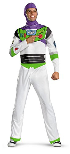 Toy Story Men's Classic Buzz Lightyear (Mens Buzz Lightyear Costumes)