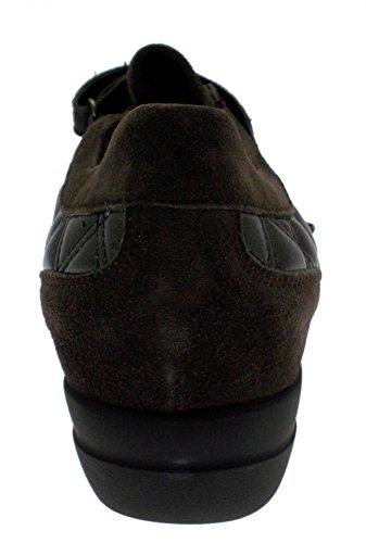 Gros L8075 Daim Brun Forme Article à Couture Velcro de pwx8adFq