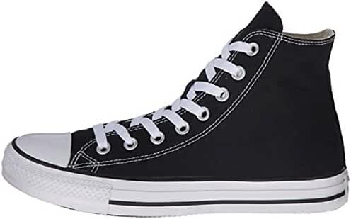 Mens C Taylor A/S HI Sneakers (5 (MEN'S) / 7 (WOMEN'S) US, Black)