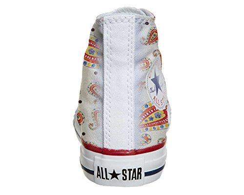 Converse All Star Customized - Zapatos Personalizados (Producto Artesano) Summer