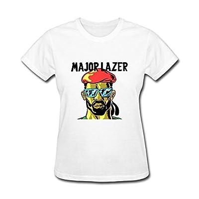 Tirasu Women's Major Lazer Art T Shirts