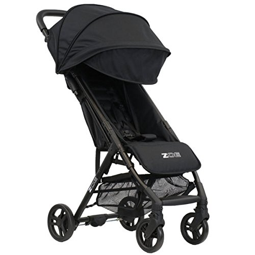 ZOE XLC Best Lightweight Travel & Everyday Umbrella Stroller System (Black)