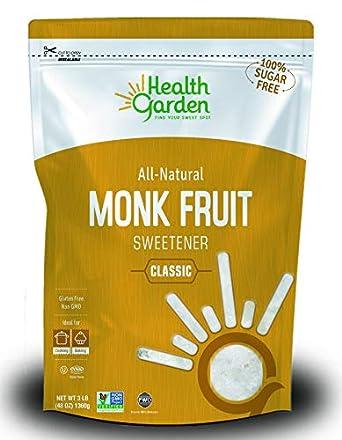 edulcorante de fruta de monje y diabetes